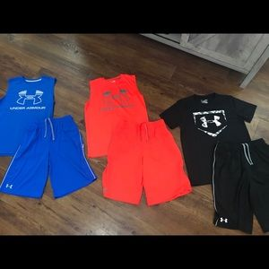 Youth Lg Under Armor outfits